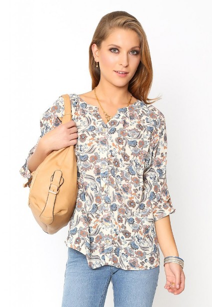 Blusa Fancy Juvenil Verano Mujer #1 OFERTA