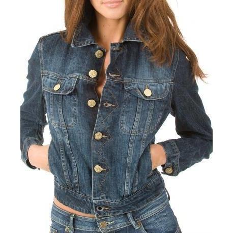 Chaqueta Juvenil Jeans Mujer #1 PREMIUM