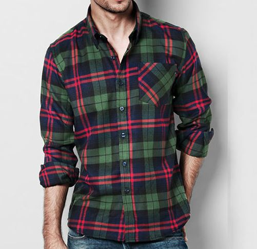Camisa Franela Hombre 36 kig #1 OFERTA