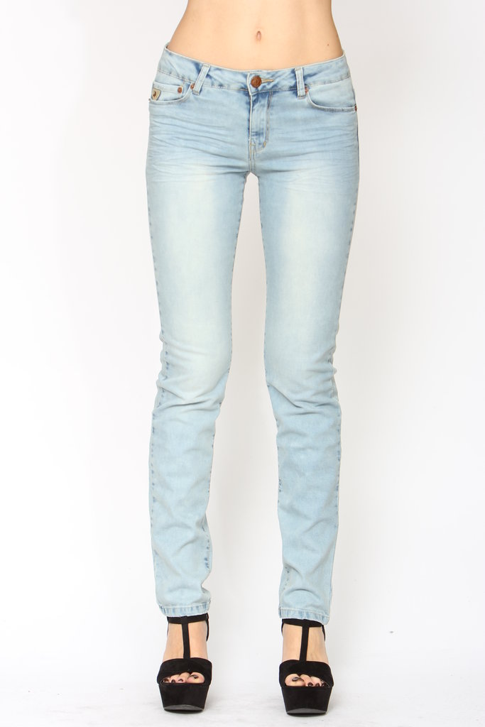 Pantalón Jeans Pitillo Mujer #1 OFERTA