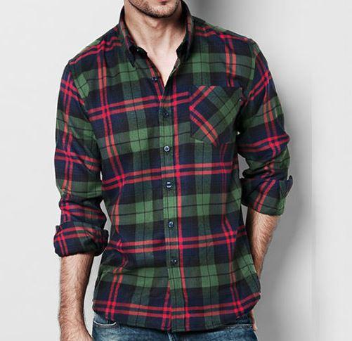 Camisa Franela Hombre #1 OFERTA