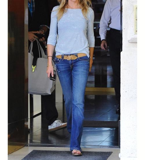 Pantalón Jeans Recto Mujer #1 PREMIUM